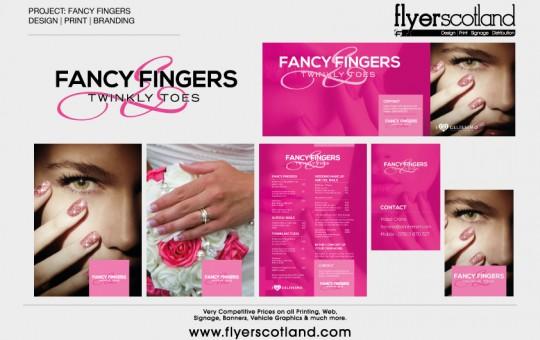 Fancy Fingers Logo & Print