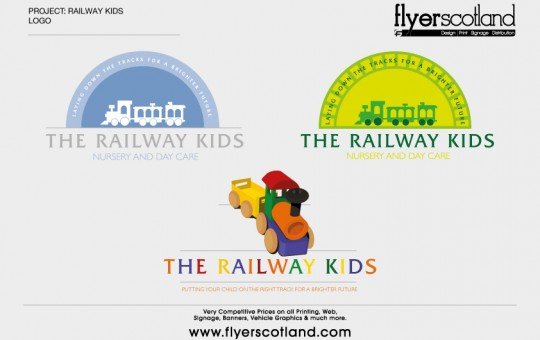 Railway Kids Branding