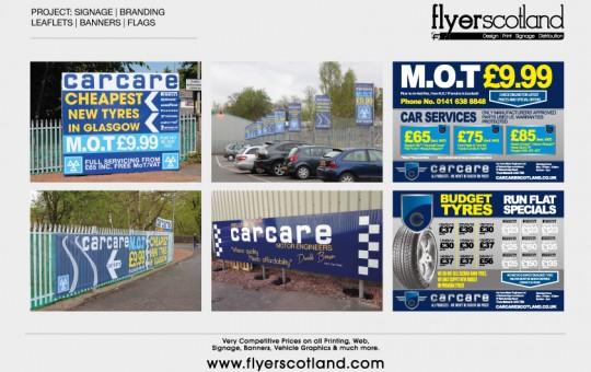 Car Care Sign & Print