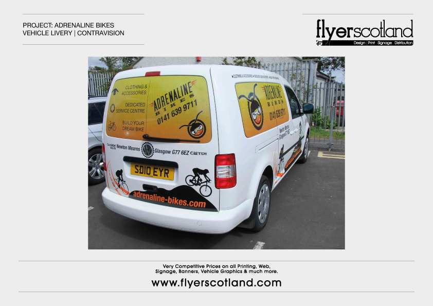 Vehicle Graphics Printed Glasgow